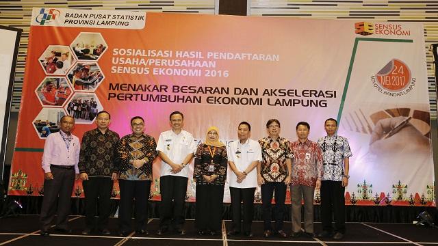 Pemprov Lampung Yakin Sensus Ekonomi 2016 Mampu Mengakselerasi Pembangunan Ekonomi Di Lampung