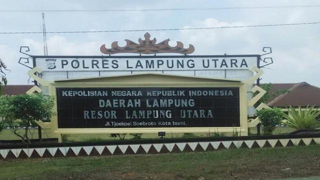 Kapolres Lampung Utara Memenangkan Perkara Praperadilan