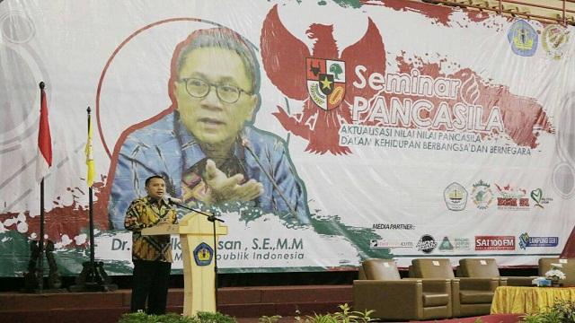 Gubernur Lampung: Pancasila Landasan Ideal Bangsa Indonesia