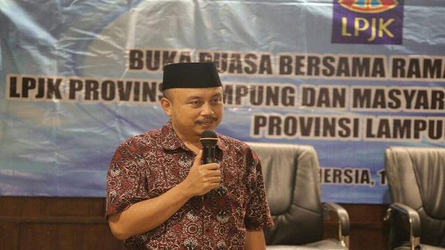 Bukber LPJK Provinsi Lampung dan Masyarakat Jasa Kontruksi Provinsi Lampung