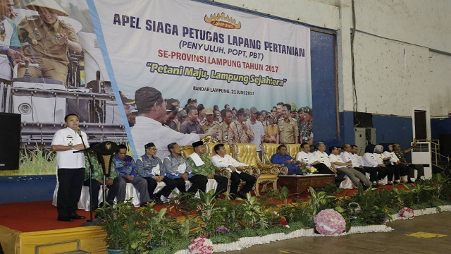 1.800 Penyuluh Se-Lampung Terima Bantuan Operasional Penyuluh Pertanian