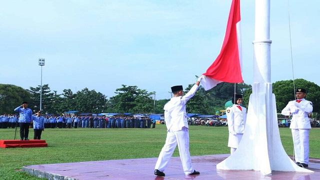 Mustafa Pimpin Upacara Peringatan Hari Kesaktian Pancasila