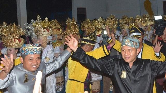 2018, Pemda Lampung Tengah Bangun Pusat Budaya dan Tugu Gajah