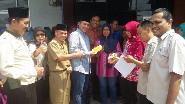 Ribuan Masyarakat Lampung Tengah Terima Bantuan PKH