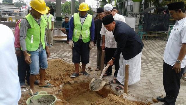 Perindah Masjid Istiqlal Bandarjaya, Pemkab Lamteng Gelontorkan Rp 5,2 Miliar