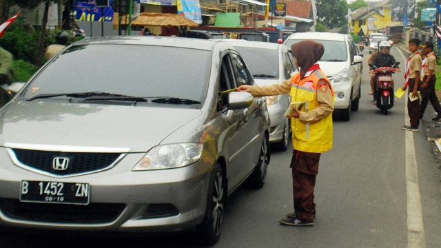Mulai Hari Ini, Pramuka Seluruh Indonesia Turun Ke Jalan Lancarkan Lebaran